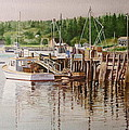 Downeast Reflections by Karol Wyckoff