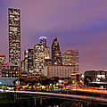 Downtown Houston Texas Skyline Beating Heart Of A Bustling City by Silvio Ligutti