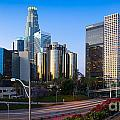 Downtown L.a. by Inge Johnsson