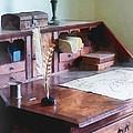 Draftsman - Cartographer's Desk by Susan Savad