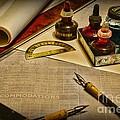 Draftsman - The Ship Builder  by Paul Ward