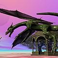 Dragon Print by Corey Ford