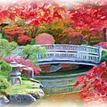 Dreaming Of Fall Bridge In Manito Park by Carol Groenen