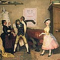 Dressing For The Masquerade by Eugen von Blaas