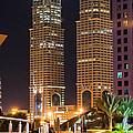 Dubai Business Towers by Zaharra Hemani