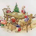Ducks Christmas by Kestutis Kasparavicius