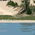 Dunes Of Lake Michigan by Michelle Calkins