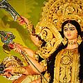 Durga Idol by Money Sharma