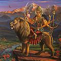 Durga Ma Print by Vrindavan Das