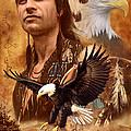 Eagle Montage by Garry Walton