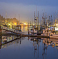 Early Morning Harbor by Jon Glaser