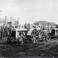 Early Tractors, Russia by Science Photo Library