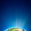 Earth Radiant Light Series - Europe by Johan Swanepoel