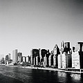 East River New York by Shaun Higson