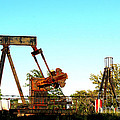 East Texas Oil Field by Kathy  White