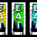 Eat the Rainbow Print by Jame Hayes