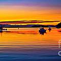 Echo Bay Sunset by Robert Bales