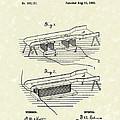 Edison Ore Separator 1882 Patent Art by Prior Art Design
