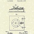 Edison Telephone 1879 Patent Art by Prior Art Design