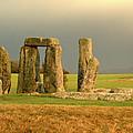 Eerie Stonehenge 3 by Deborah Smolinske