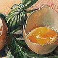 Egg And Basil by Alessandra Andrisani