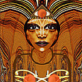 055 - Egyptian Woman Warrior Magic   by Irmgard Schoendorf Welch