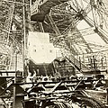 Eiffel Tower Lift Machinery, 1889 by Science Photo Library