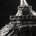 Eiffel Tower Paris France Night Lights by Patricia Awapara