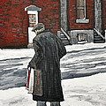 Elderly Gentleman  In Pointe St. Charles by Reb Frost