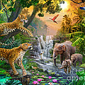 Elephant Falls by Jan Patrik Krasny