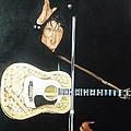 Elvis 1956 by Bryan Bustard