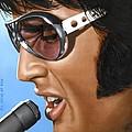 Elvis 24 1970 by Rob De Vries