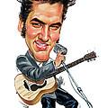Elvis Presley by Art