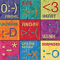 Emoticons Patch by Debbie DeWitt