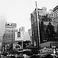 empire state building shrouded in mist from west 34th Street and 7th Avenue King Kong movie poster by Joe Fox