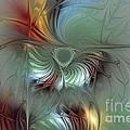 Enchanting Flower Bloom-abstract Fractal Art by Karin Kuhlmann