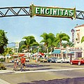 Encinitas California by Mary Helmreich