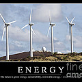 Energy Inspirational Quote by Stocktrek Images