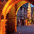 Entry To Riquewihr by Brian Jannsen