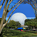 Epcot Globe 02 by Thomas Woolworth