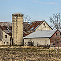 Ethridge Tennessee Amish Barn by Kathy Clark