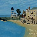 European Lighthouse by Anthony Dunphy