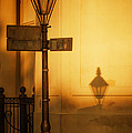Evening Shadow In Jackson Square by Brenda Bryant