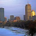 Evening Winter Boston