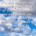 Expect Great Things - Thoreau by Mark Tisdale