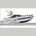 Express Sport Yacht by Jack Pumphrey