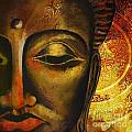 Face Of Buddha  by Corporate Art Task Force