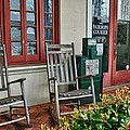 Fairhope Courier Print by Michael Thomas
