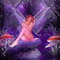 Fairy Fantasy Print by Brian Graybill