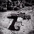 Faith Among The Ruins Print by Bob Orsillo